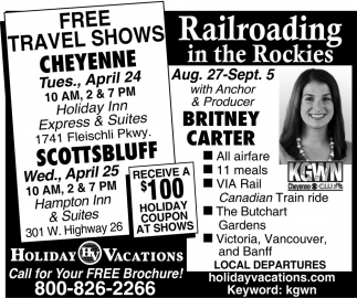 Railroading in the Rockies