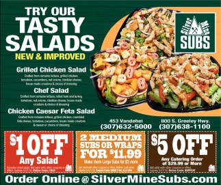 Try Our Tasty Salads