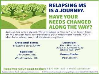 Relapsing MS is a Journey