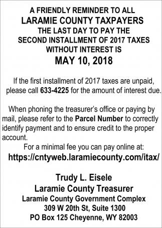Laramie County Taxpayers