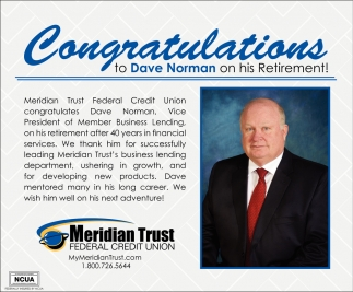 Congratulations to Dave Norman on his Retirement!