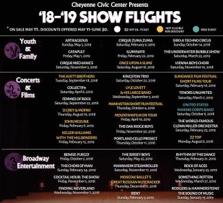 '18-'19 Show Flights