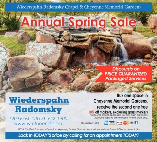 Annual Spring Sale