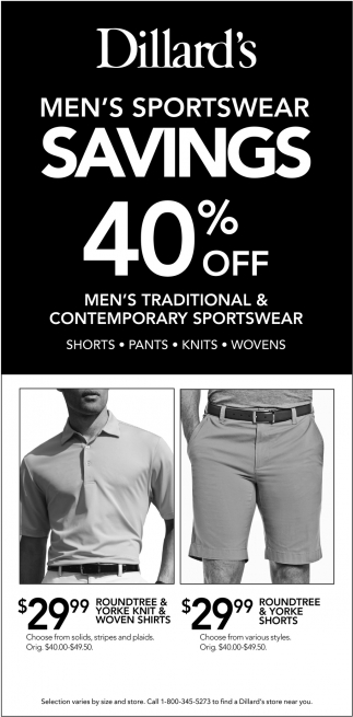 Men's Sportwear Savings