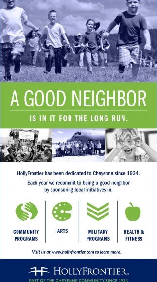 A Good Neighor