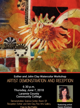 Esther and John Clay Watercolor Workshop