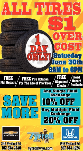 All Tires $1