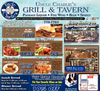 Grill & Tavern - Package Liquor