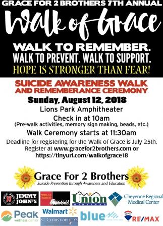 Walk of Grace Walk to Remember