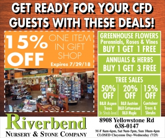 Get Ready for Your CFD Guest ith these Deals!