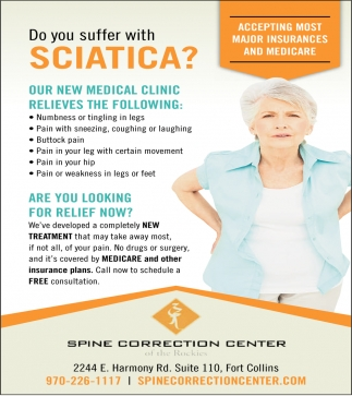 Do you Suffer with Sciatica?