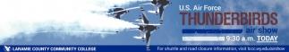 U.S Air Force Thunderbirds Air Show