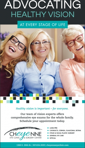 Advocating Healthy Vision