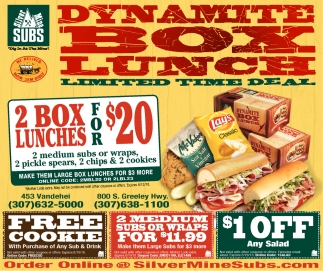 Dynamite Box Lunch