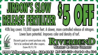 Jirdon'd Slow Release Fertilizer