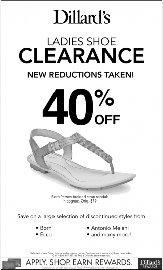 22e277c1e46 Ladies Shoe Clearance