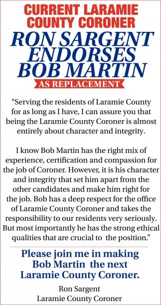 Bob Martin as Replacement