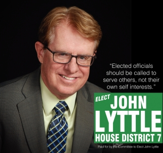 Elect John Lyttle House District 7