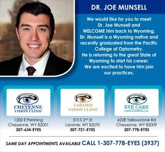Dr. Joe Munsell