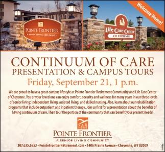 Presentation & Campus Tours