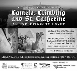 Camels, Climbing and St. Catherine