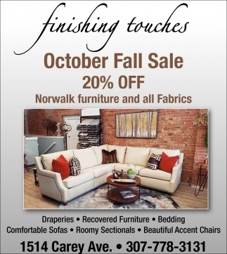 October Fall Sale