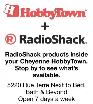 HobbyTown + RadioShack