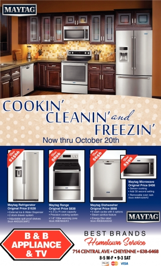 Cookin' Cleanin' and Freezin'