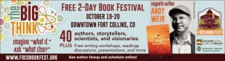 Free 2-Day Book Festival
