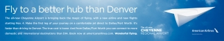 Fly to a Better Hub than Denver