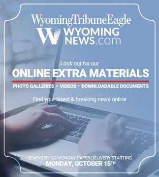 Online Extra Materials