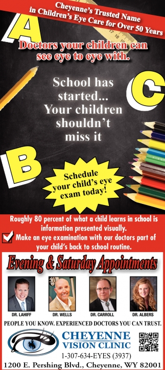 Doctors your Children Can See Eye to Eye with