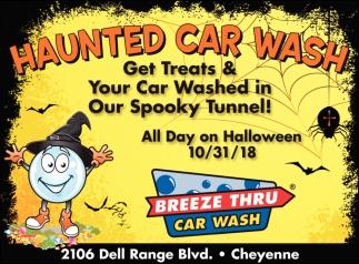Haunted Car Wash