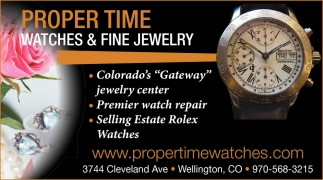Watches & Fine Jewelry