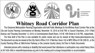 Whitney Road Corridor Plan