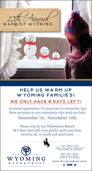 12th Annual Warm Up Wyoming