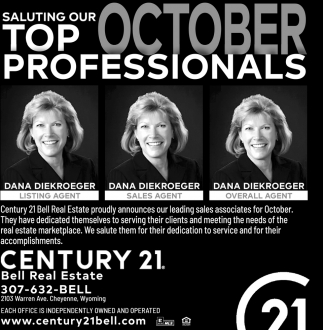 Saluting Our Top October Professionals