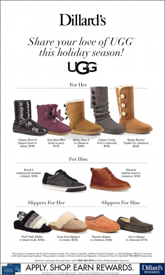 Share your Love of UGG this Holiday Season