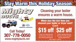 Stay Warm this Holiday Season