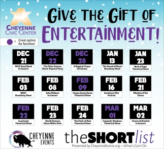 Give the Gift of Entertainment