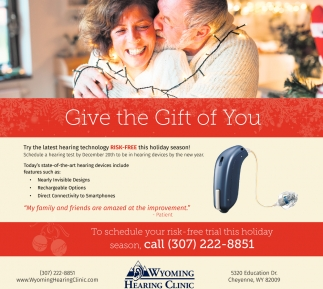Give the Gift of You