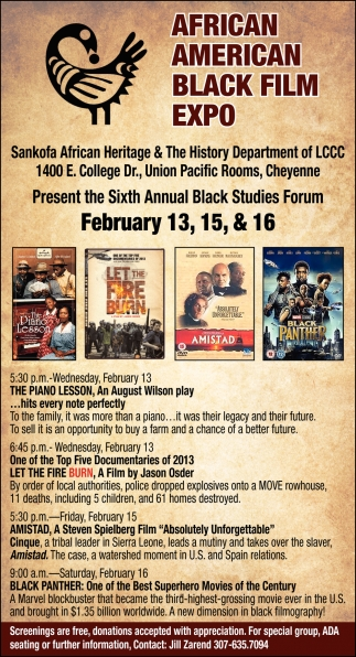 African American Black Film Expo
