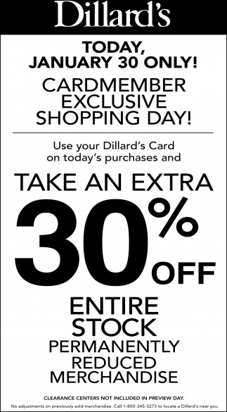 Take Extra 30% OFF