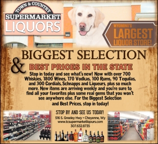 Biggest Selection & Best Prices in the State
