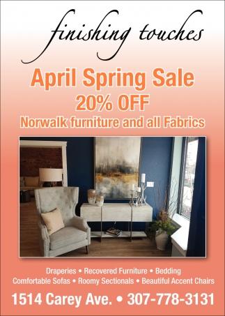 April Spring Sale