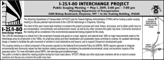 I-25/I-80 Interchange Project