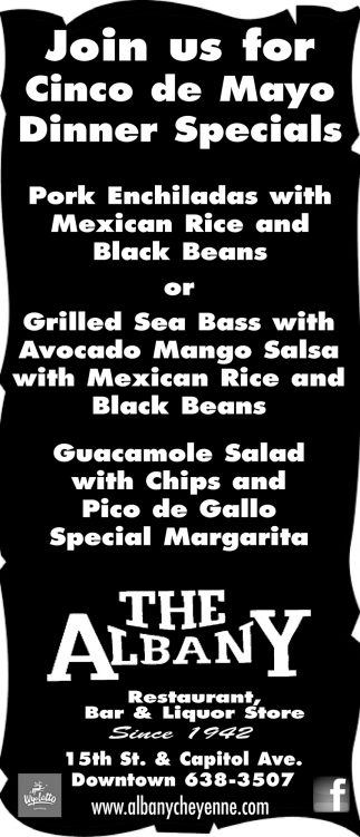 Cinco de Mayo Dinner Specials
