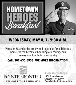 Hometown Heroes Breakfast