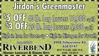 Jirdon's Greenmaster