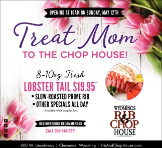 Treat Mom to the Chop House